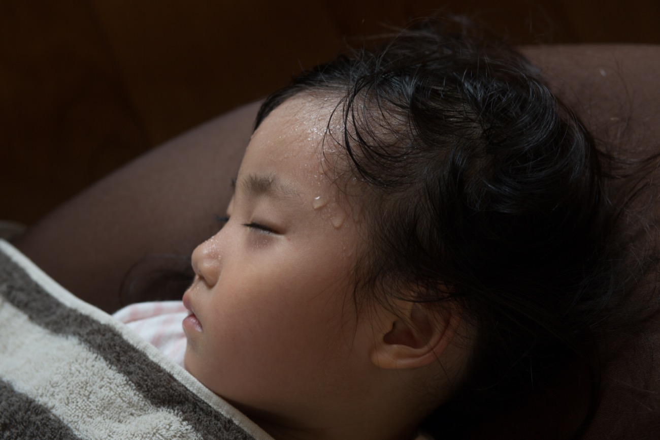 Sudorazione notturna bambini