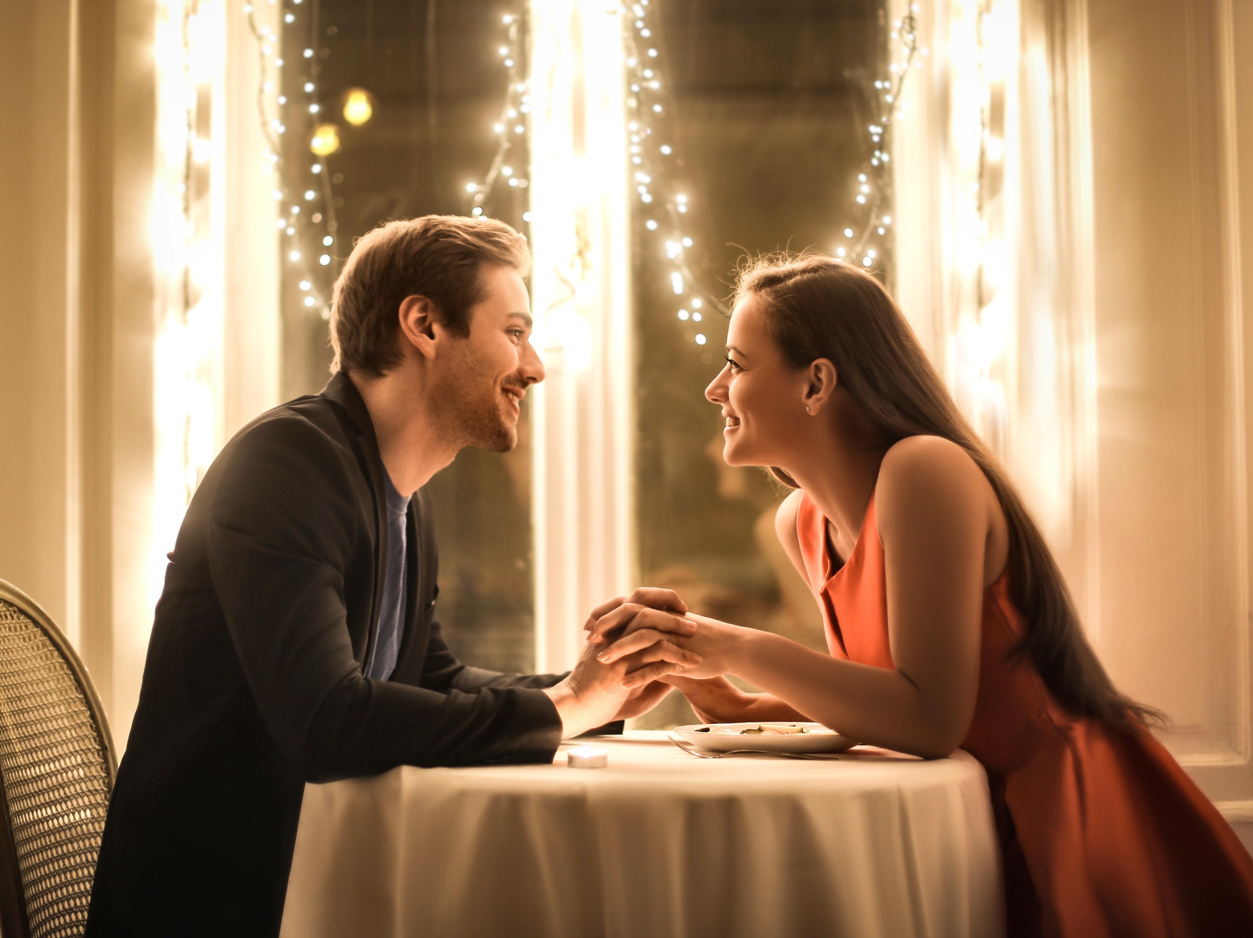 momento romantico di coppia