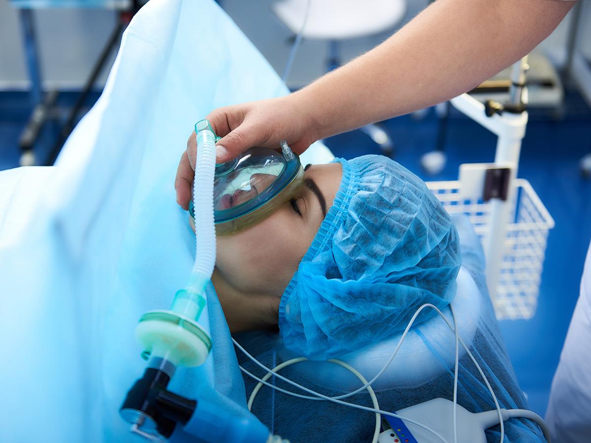smaltire anestesia totale