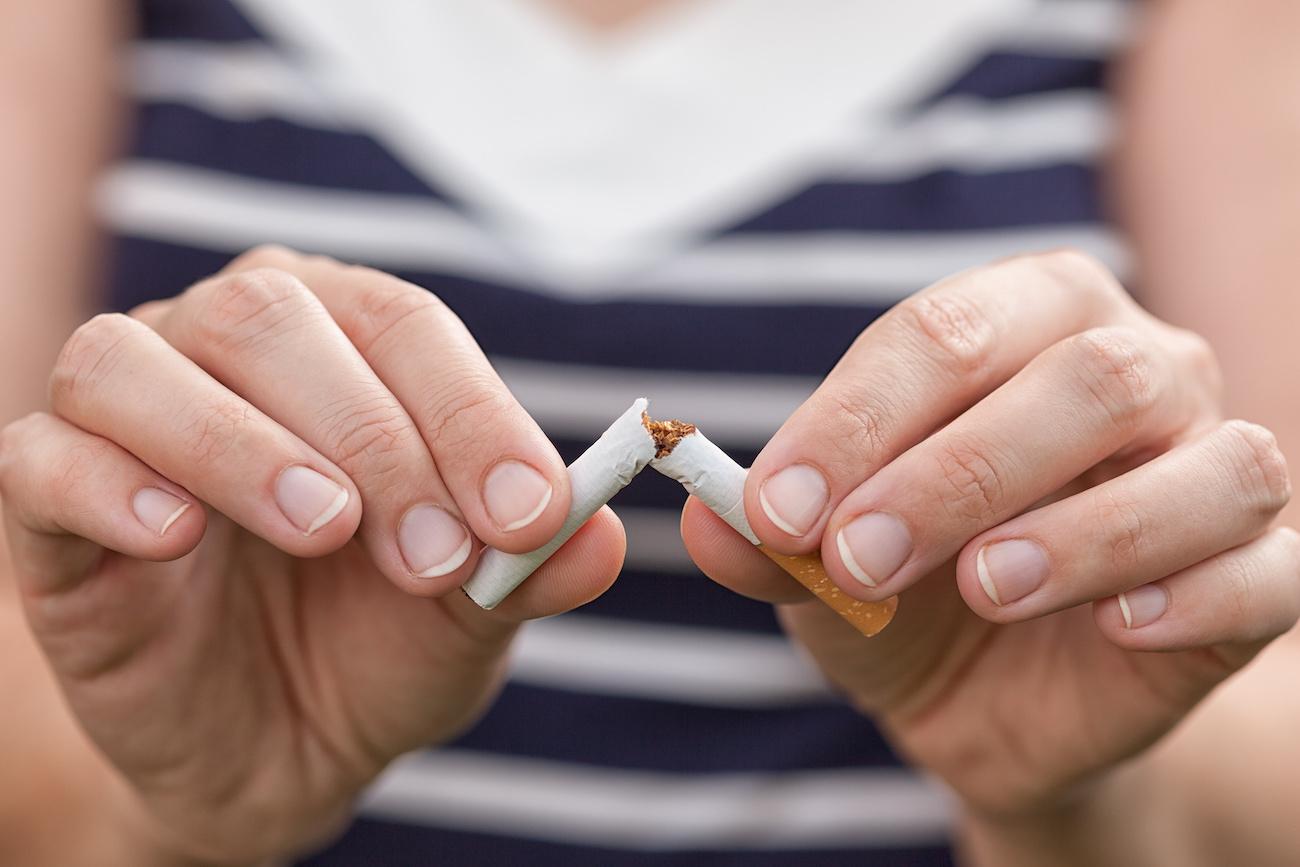 Benefici dello smettere di fumare