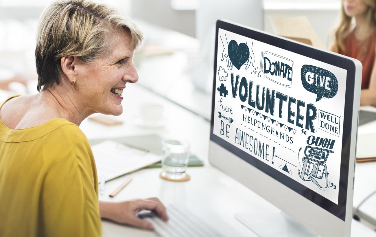 Fare volontariato online