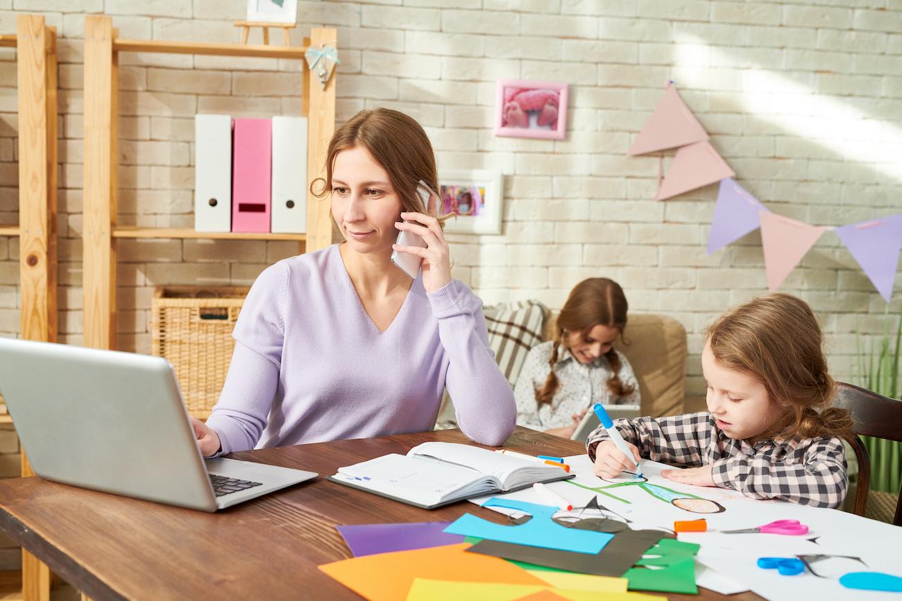 Smartworking con bambini