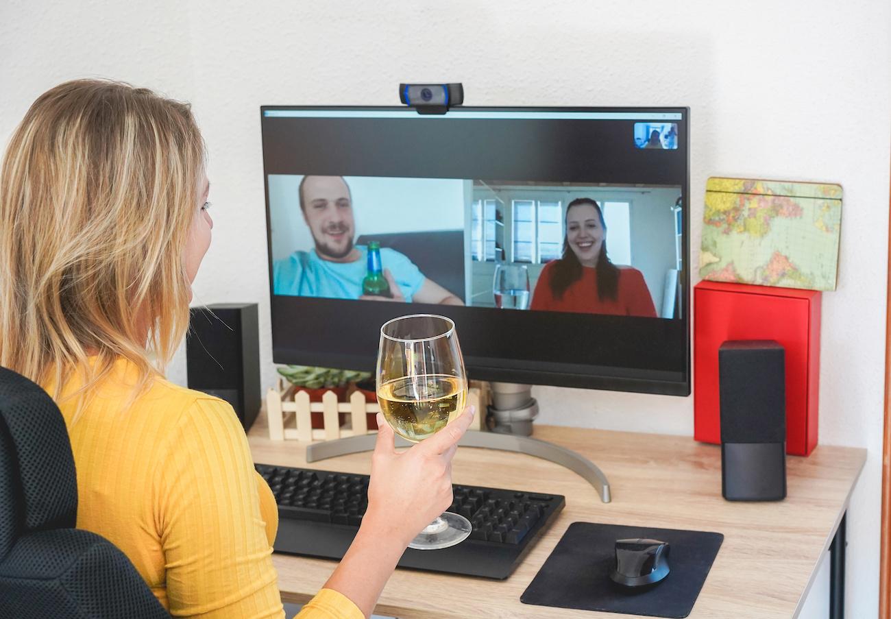 Videochat con amici