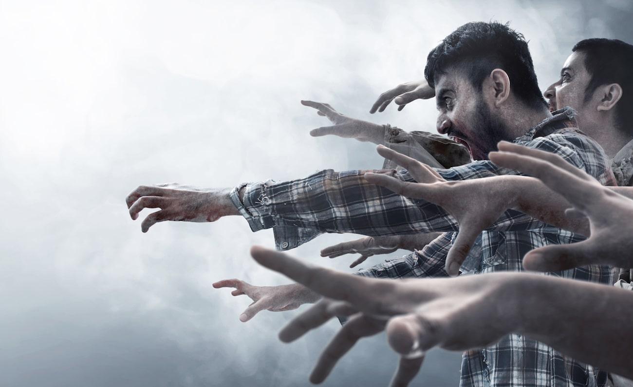Zombie in quarantena