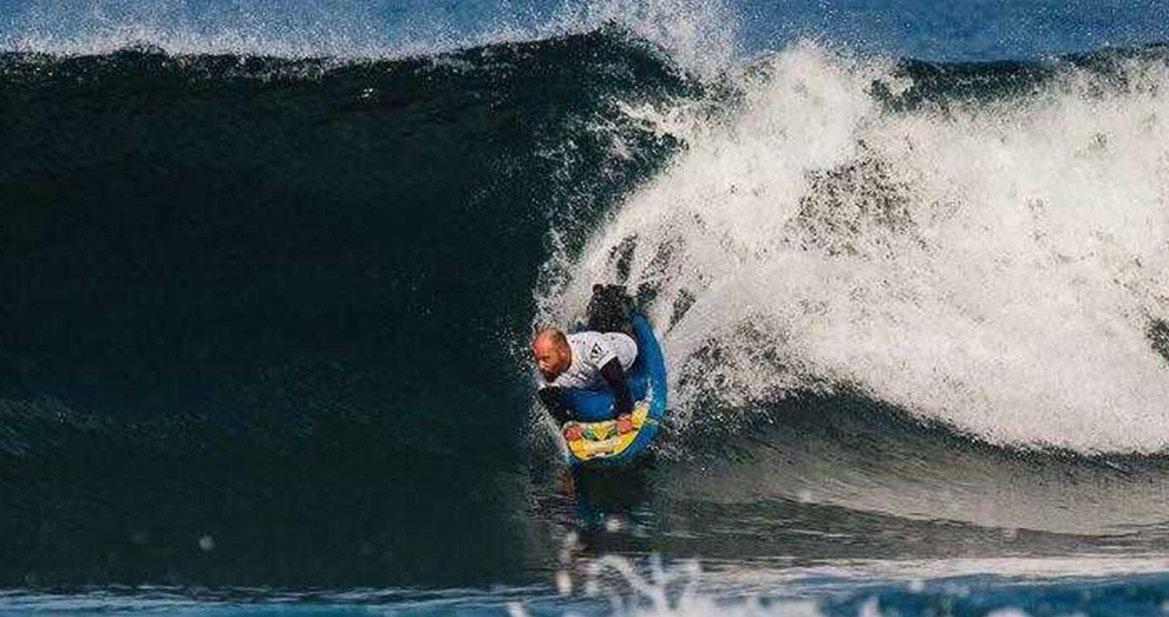 Massimiliano Mattei campione italiano di adaptive surf