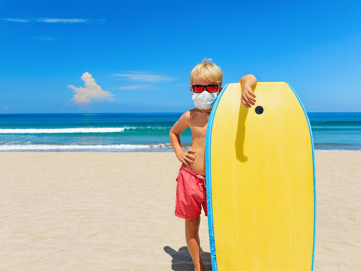 coronavirus contagio spiaggia