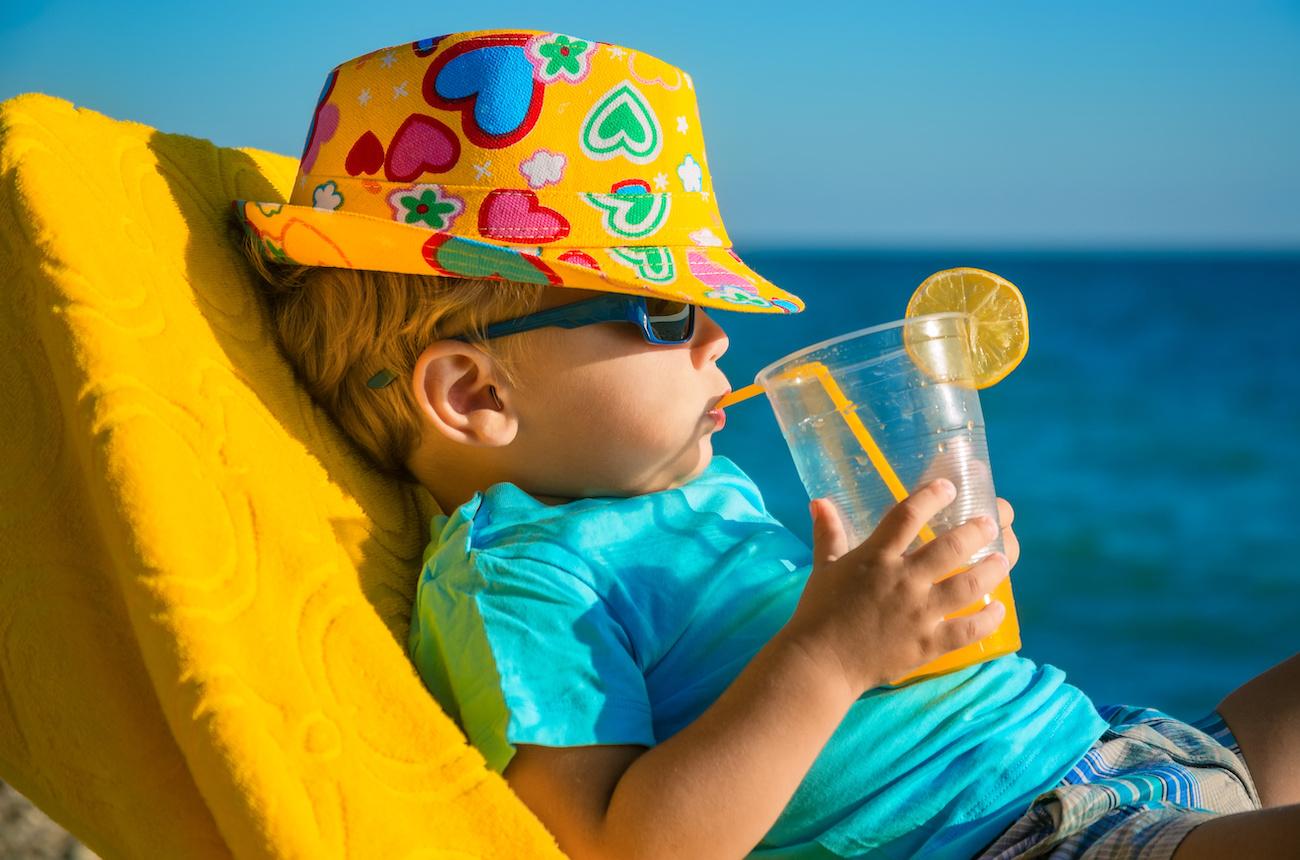 Esposizione dei bambini al sole