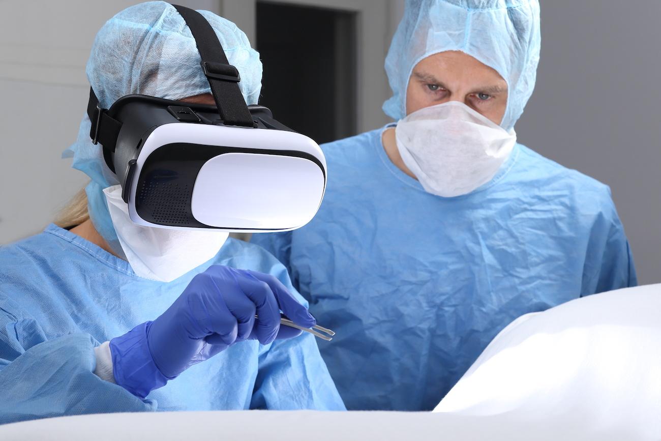 VR medicina