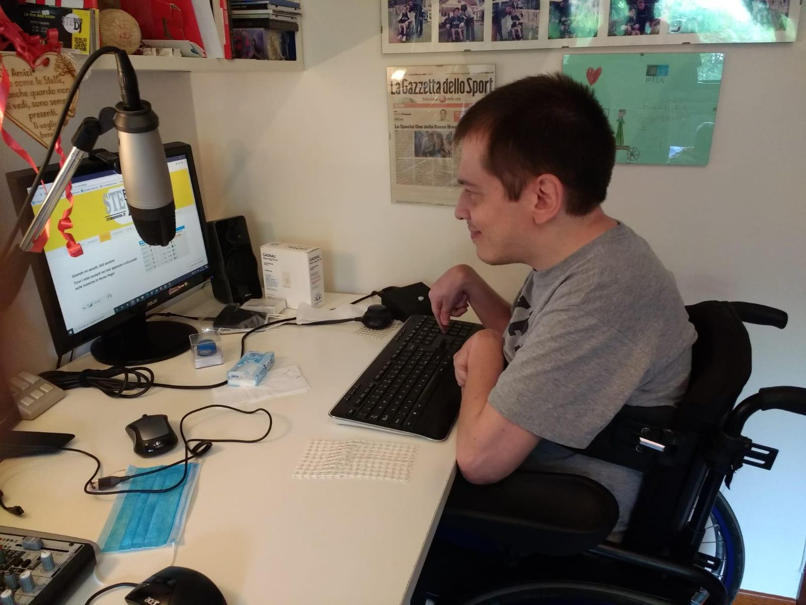 Stefano Pietta e la sua web radio