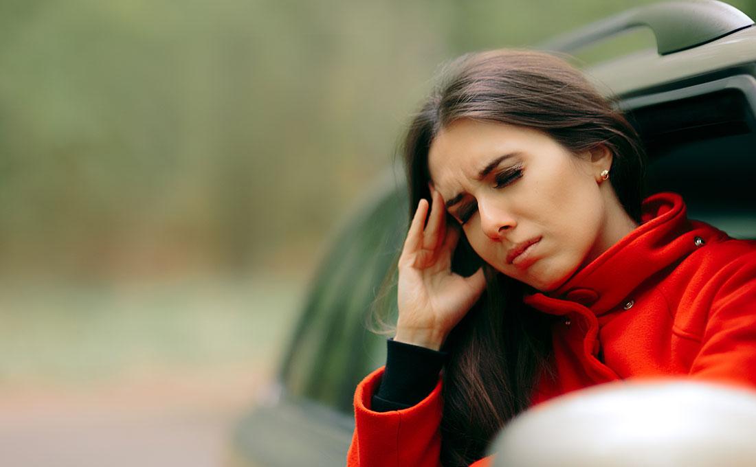 come combattere il mal d'auto
