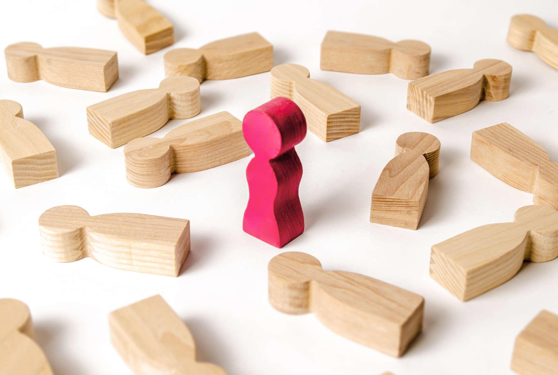 modellini di legno