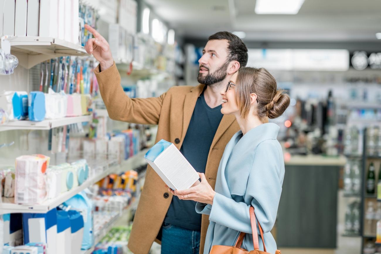 visual merchandising per la farmacia