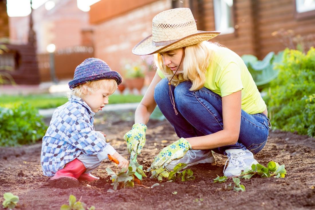 perché fare l'orto con i bambini