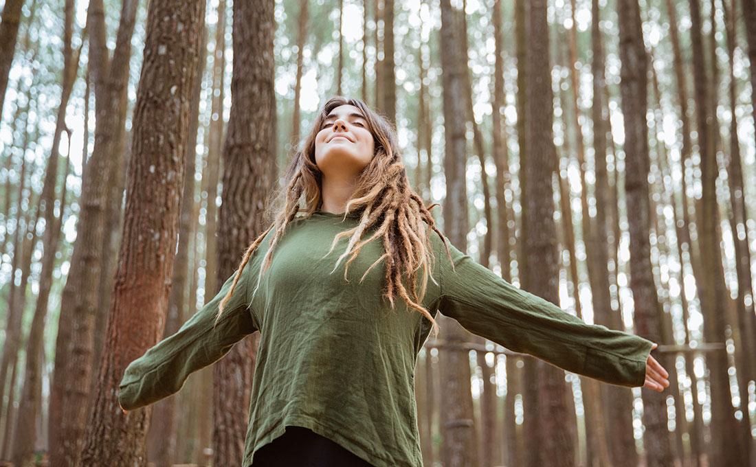 terapia forestale e bagni forestali